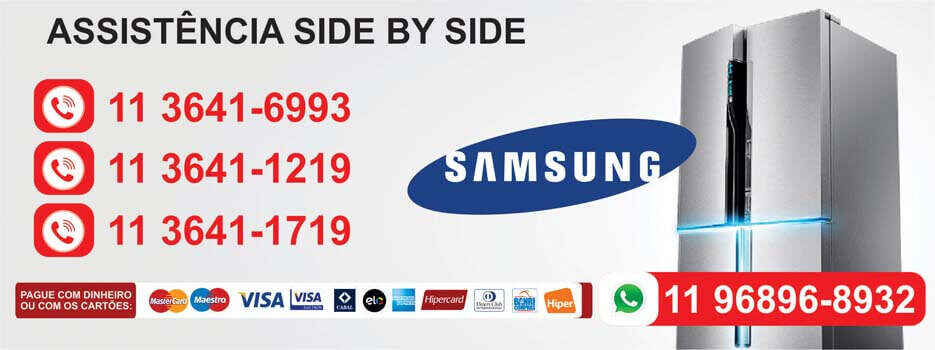Refrigerador Side by Side Samsung assistencia